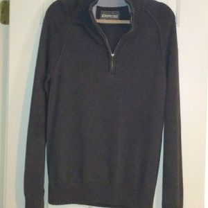 Aeropostale 1/4 Zip Men's Sweater
